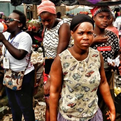 Campagne de sensibilisation au grand marché d'Abobo
