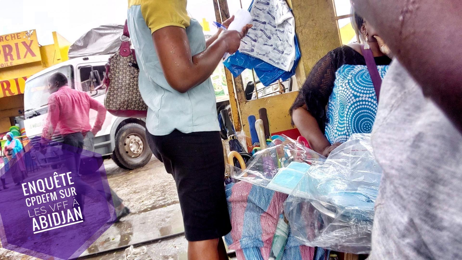 Enquête sur les VFF à Abidjan en lien avec la COVID-19